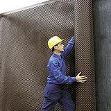 Монтаж на дренажна, защитна мембрана от високо плътен полиетилен